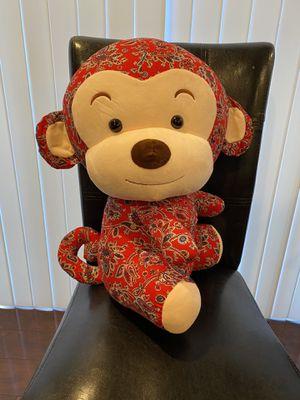Stuffed animal monkey for Sale in Sacramento, CA