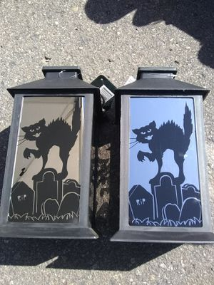 New Halloween LED Light Up Lanterns Both for $5 for Sale in El Cajon, CA