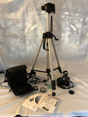 Olympus digital camera, tripod, light stands package for Sale in Olympia, WA