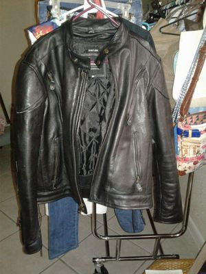 Leather jacket 3xl like new for Sale in Miami Gardens, FL