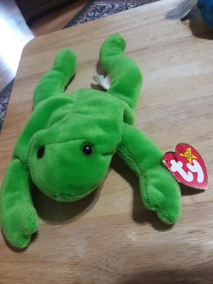 Ty beanie baby Legs the frog for Sale in US