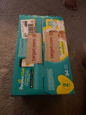 Newborn and Size 2 Diapers! for Sale in Orange, CA