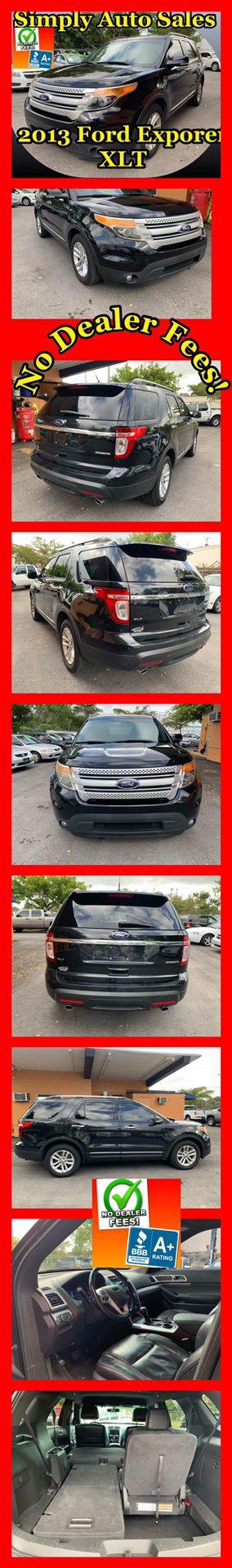 2013 Ford Explorer XLT for Sale in Palm Beach Gardens, FL