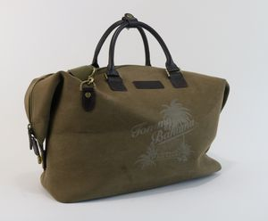 Tommy Bahama Paradise Carry On Canvas Suitcase Duffle Bag Travel for Sale in Alpharetta, GA