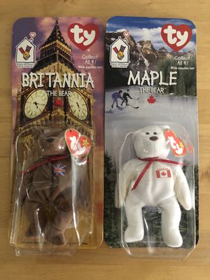 Ty vintage collectible beanie babies bears for Sale in Los Angeles, CA