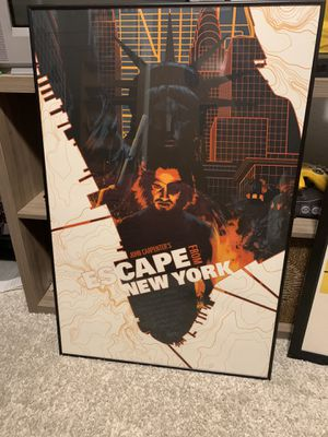 Mondo John carpenter's escape from New York poster for Sale in Arlington, TX