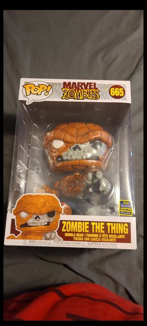 Zombie the thing funko pop for Sale in Chandler, AZ