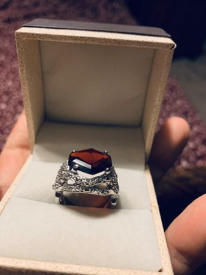 Sterling silver ring size 8 for Sale in Palos Hills, IL