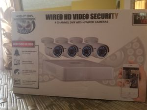 Wired HD Video Security for Sale in Manassas, VA