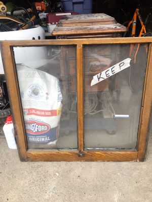 4 Antique Wood Divided Windows with Original Wavy Glass for Sale in Pittsburgh, PA
