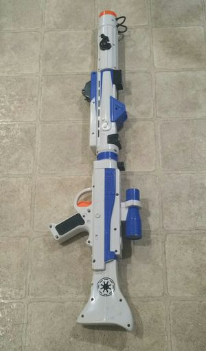 2008 Star Wars Build Your Own Blaster Clone Trooper Toy Blaster for Sale in Lynnwood, WA