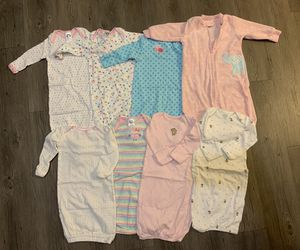 Baby sleepers 0-3, 0-6 month for Sale in Upland, CA