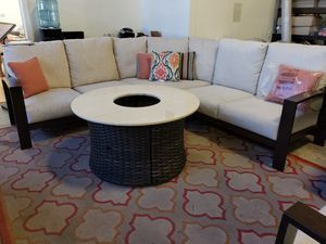 New outdoor patio furniture sectional sofa tax included delivery available for Sale in Hayward, CA