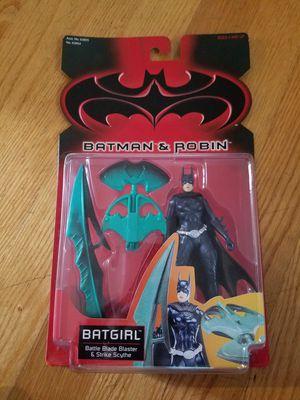 BATMAN & ROBIN:BATGIRL BATTLE BLADE BLASTER ACTION FIGURE for Sale in Fulton, MD