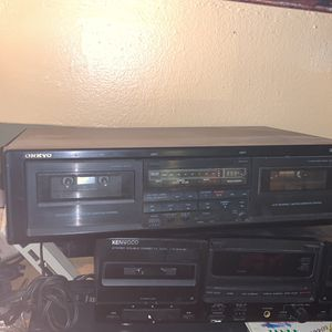 Onkyo Double Cassette for Sale in The Bronx, NY