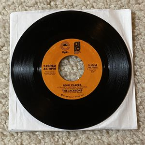 "The Jacksons ""Goin' Places"" vinyl 7"" single 1977 Epic Records -1Dmatrix very nice copy 70s Soul for Sale in Aliso Viejo, CA"