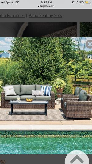 Outdoor furniture set for Sale in Verona, PA