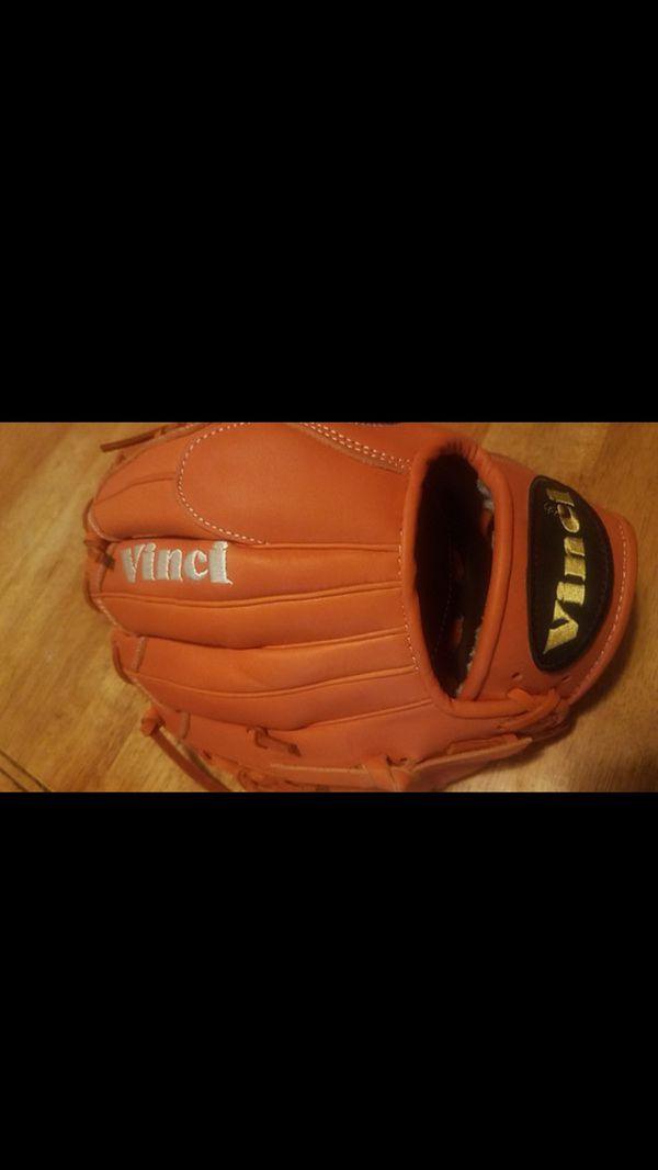 Vinci Pro Limited Series orange Baseball Glove