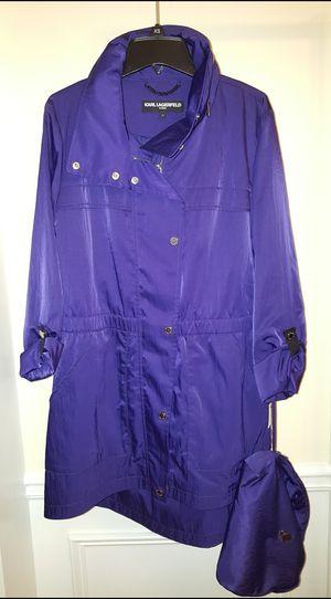 Karl Lagerfeld Packable Women's Raincoat for Sale in Lawrenceville, GA