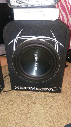 Memphis mtx audio TR75 Like new in a pro box for Sale in Auburn, WA