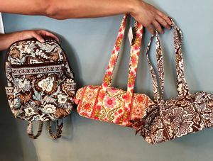 Vera Bradley purse and backpack for Sale in Riverton, NJ