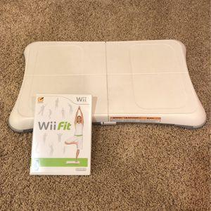 Wii fit With Power Board for Sale in Warren, NJ