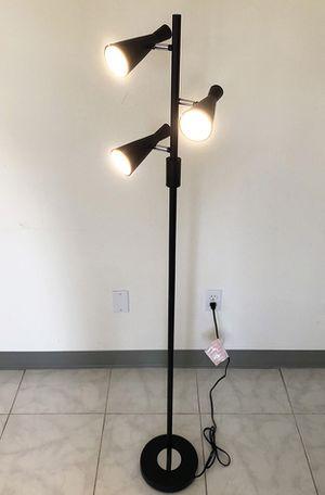 Brand New $30 LED 3-Light Floor Lamp 5ft Tall Adjustable Tilt Light Fixtures Home Living Room Office for Sale in Downey, CA