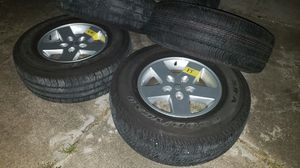 Jeep Wrangler Wheels and Tires for Sale in Houston, TX