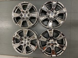 Ford F-150 18 inch factory chrome wheels for Sale in Kirkland, WA