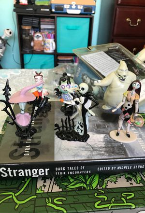 Nightmare before Christmas figures for Sale in San Fernando, CA