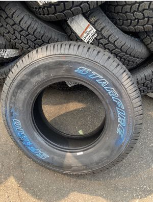 Heavy Duty StarFire 510LT Tires Size LT 27x8.50R14 Heavy Duty ....$79 EA for Sale in La Habra, CA