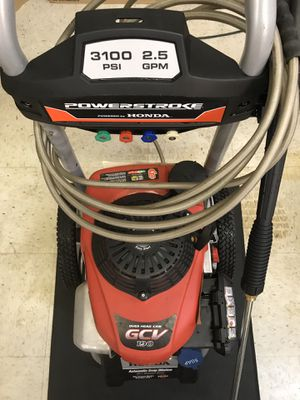 PowerStroke Honda Gas Pressure Washer 3100psi for Sale in Kent, WA