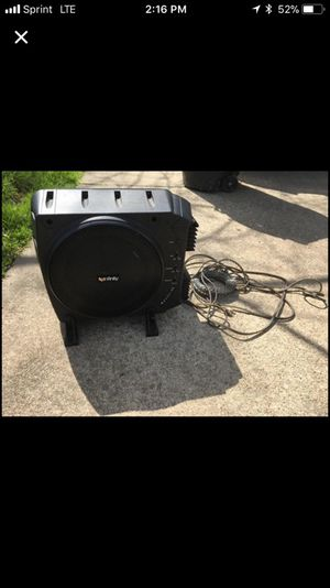 Infinity BassLink Combined Speaker and Subwoofer for your car to enhance sound quality. for Sale in Washington, PA
