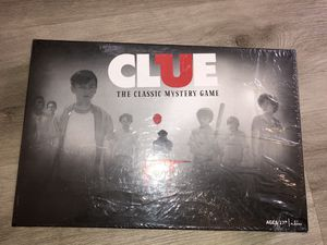 CLUE: IT Board Game SEALED UNOPENED -tears to shrink wrap for Sale in Las Vegas, NV