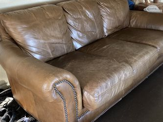 Brown Leather Sofa Set for Sale in Austin,  TX