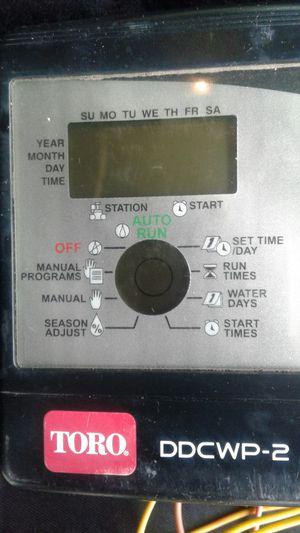 Toro sprinkler timer for Sale in Citrus Heights, CA