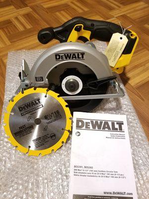"""Dewalt 6 1/2"""" Circular Saw 20V for Sale in Norwalk, CA"""