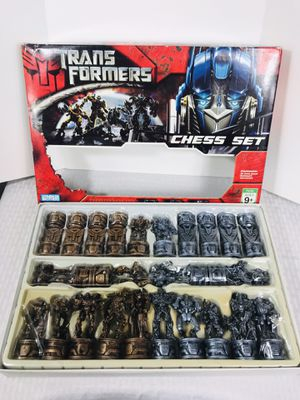 2007 Hasbro Transformers 100% Complete Chess Set for Sale in Providence, RI