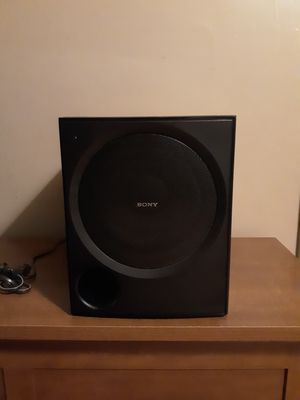 Sony 8in powered subwoofer for Sale in Columbus, OH