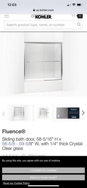Kohler frameless shower door for Sale in Azusa, CA