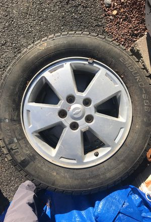 4 Chevrolet rims and tires for Sale in Jackson, NJ