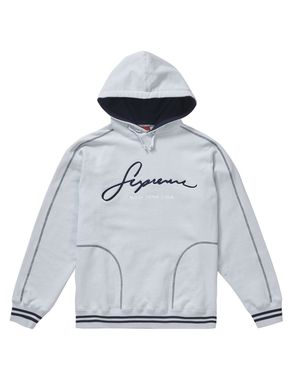 Supreme Embroidered Hoodie Ice Medium for Sale in Carson, CA