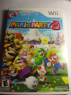 Nintendo Wii Mario Party 8 Video Game for Sale in Riverside, CA