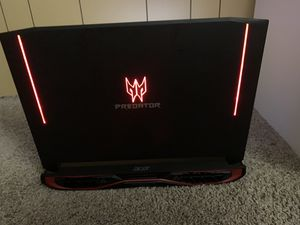 Acer Predator 17x Gaming Laptop Nvidia GTX 1080, i7-7820HK, 32GB Ram, 512 GB SSD, 1TB HDD, VR Ready for Sale in Cuyahoga Falls, OH