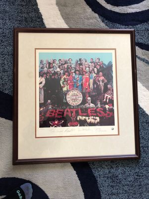 The Beatles' SGT. Peppers Lonely Hearts Club Band, Limited Edition Lithographic Print, 1993 (print number #4919) for Sale in Annandale, VA