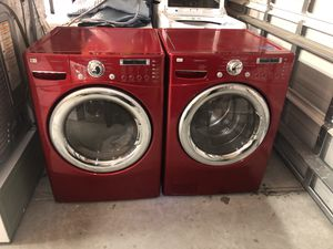 LG washer and dryer for Sale in Charlotte, NC