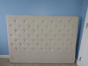Linen Headboard for Sale in Raleigh, NC