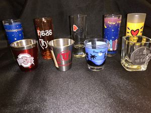 Set of 9 Souvenir Shot glasses for Sale in Azusa, CA