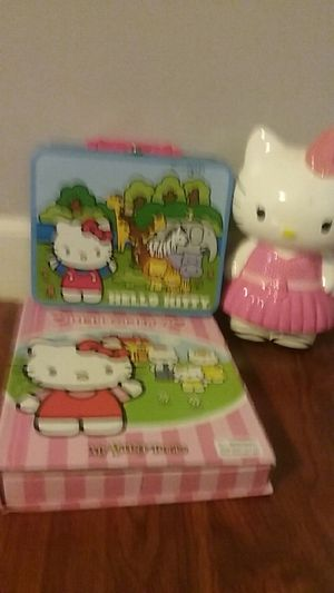 Hello kitty set for Sale in Durham, NC