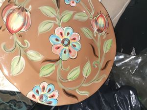 Designer plates$15.00 cash only (serious buyers) for Sale in Dallas, TX
